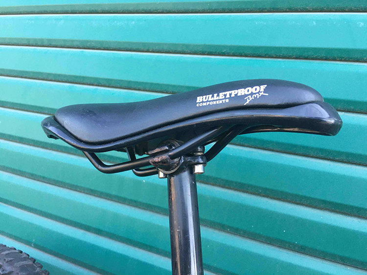 Bullitproof saddle