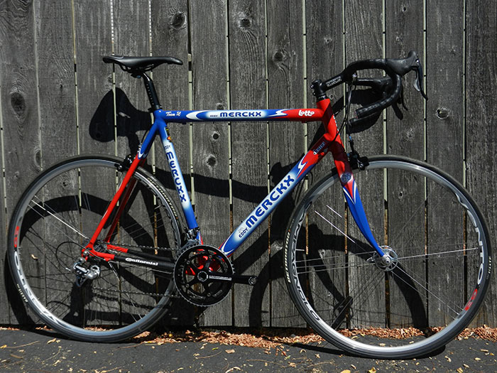 Eddy Merckx Team SC bike