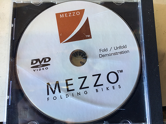 Mezzo instructions CD