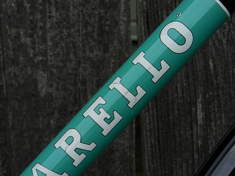 Downtube decal
