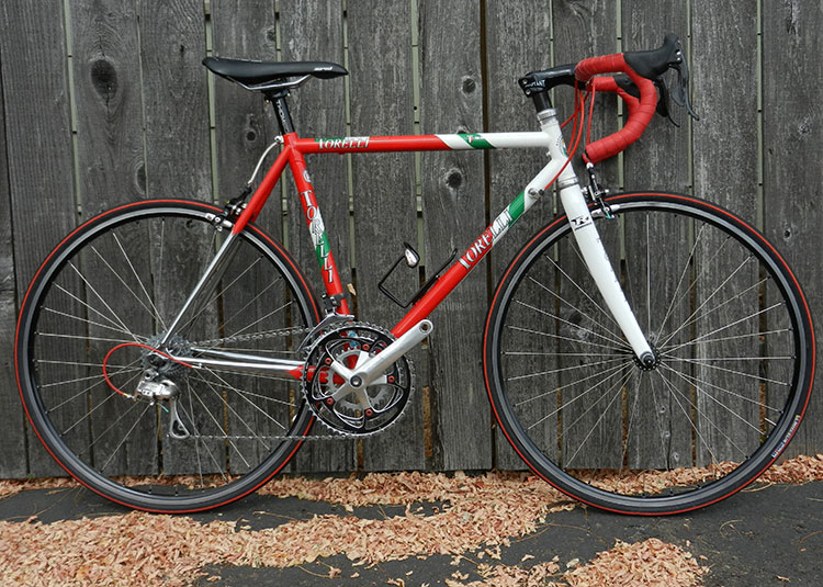 Torelli 650 20th Anniversary bike