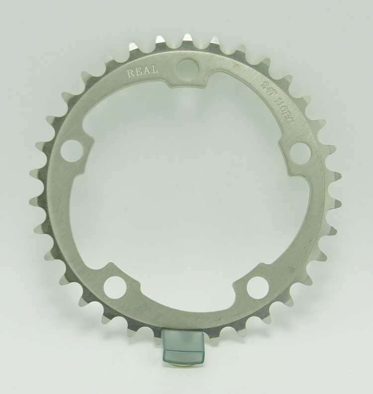 Real bicycle chainring
