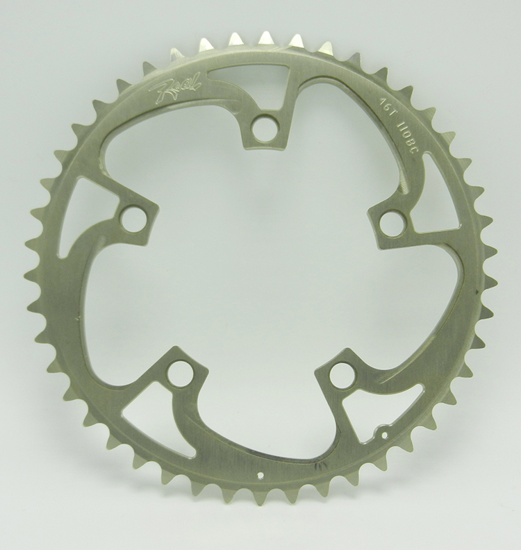 Real 46-tooth chainring