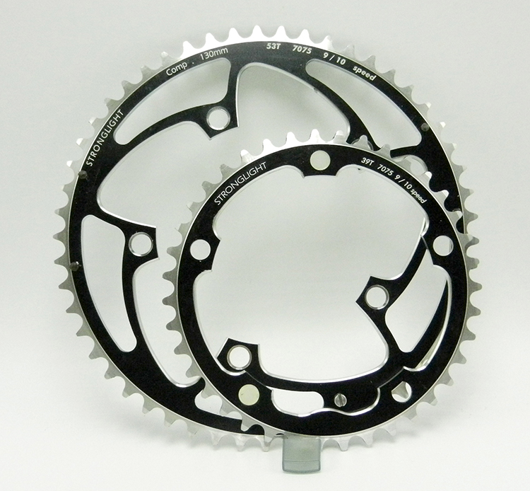 Stronglight chainring set