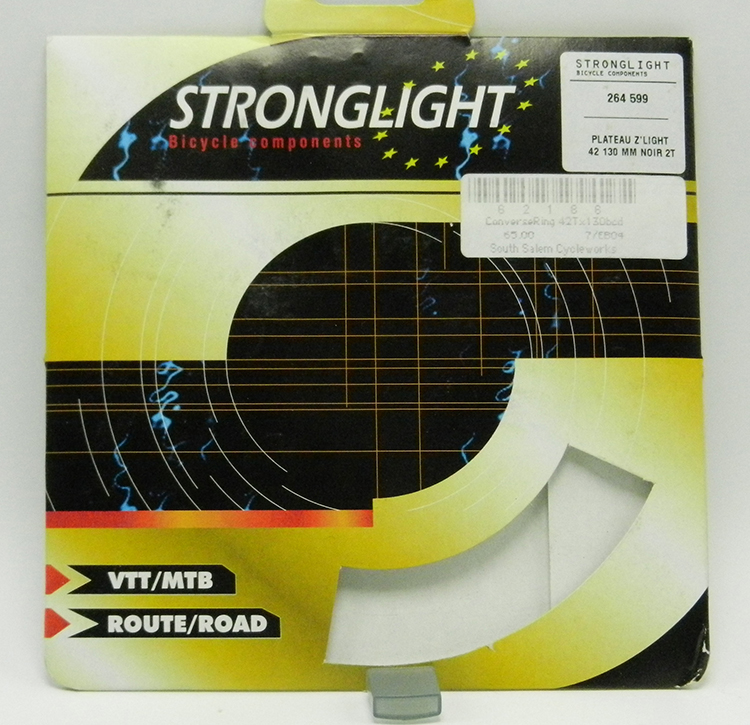 Stronglight factory ackage