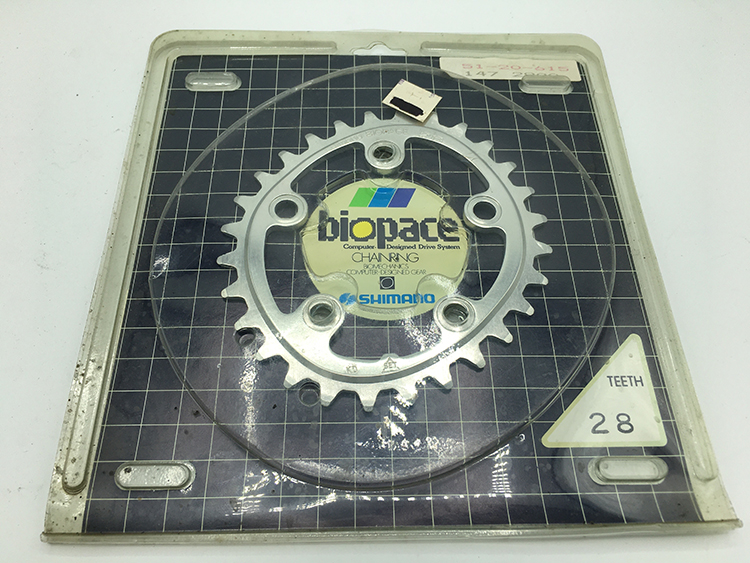 Biopace 28-tooth chainring