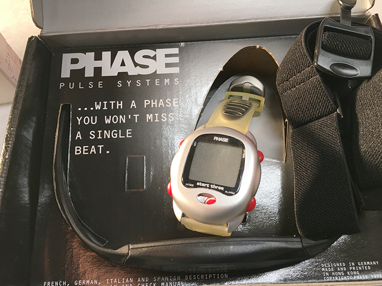 Phase three heartrate monitor