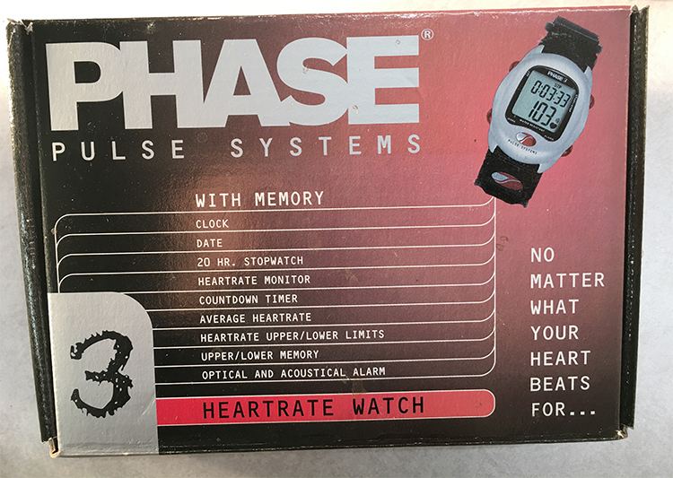 Phase 3 heartrate monitor