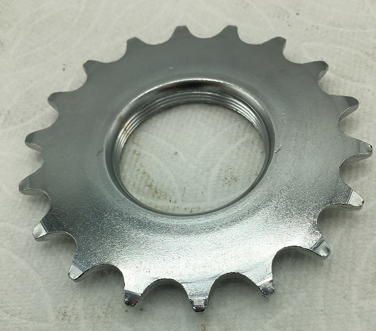18-tooth track cog