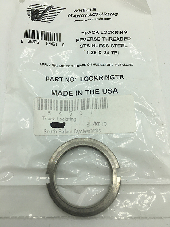 Wheels Manufacturing track lockring