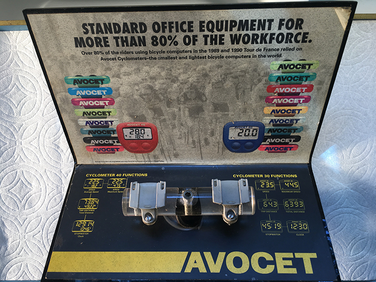 Avicet conoyter display