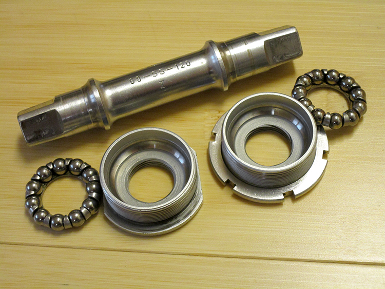 Campagnolo English Nuovo Record bottom bracket
