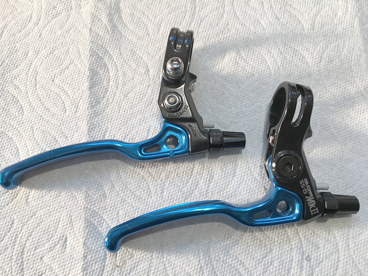 SS5 Mark 2 levers