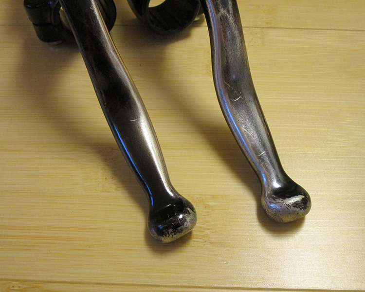 Shimano Deore levers