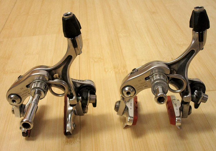 Shimano Dura-Ace 7800 brake calipers