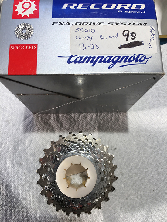 Record 9 speed cassette