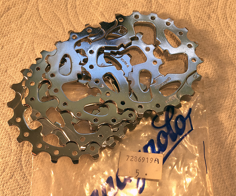 19-tooth sprocket