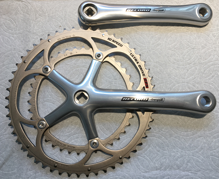 Record 170 mm crankset