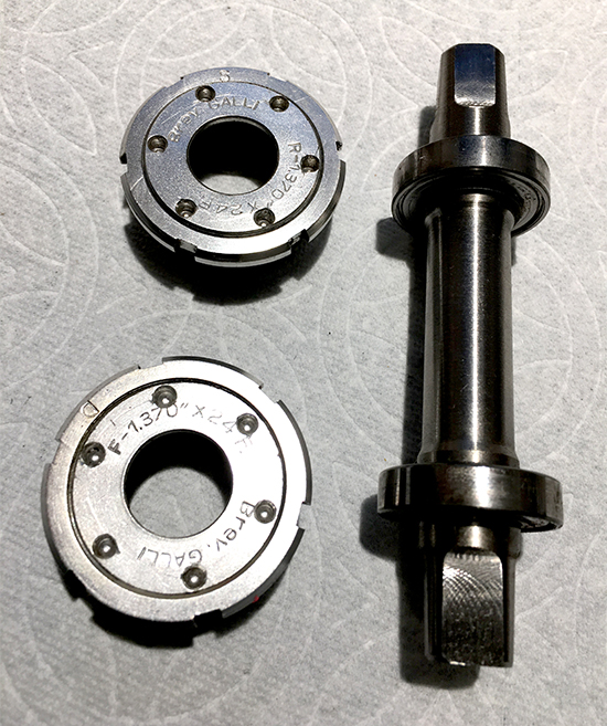 Galli Super Criterium bottom bracket