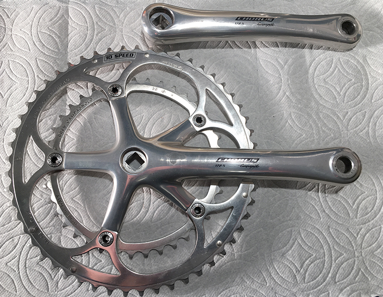 Chorus 10-speed crankset