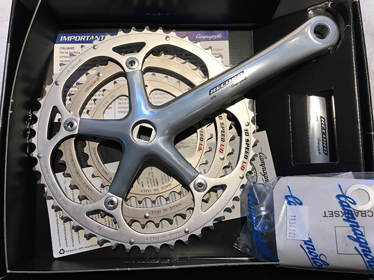 Record racing crankset