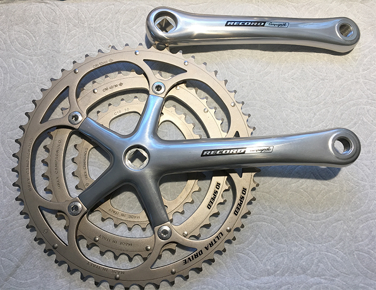 Record Triple crankset
