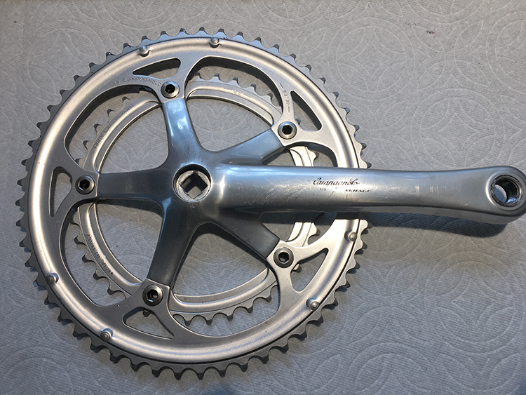 Mirage right 175 crank with chainrings