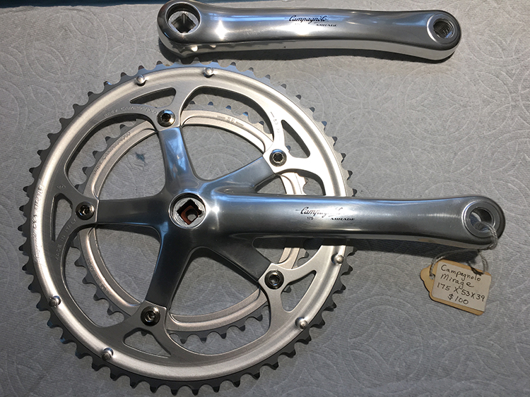Mirage 175mm crankset