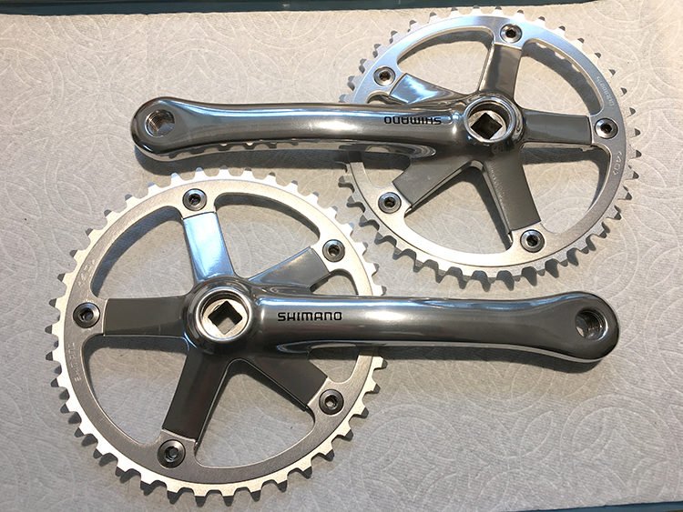 Shimano 105 timing arms for tandem