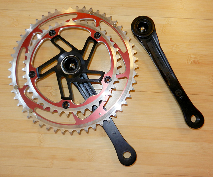 Stronglight Ironlight crankset