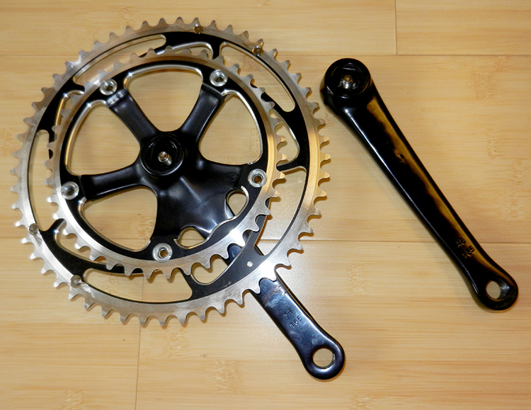 Stronglight Speelight crankset