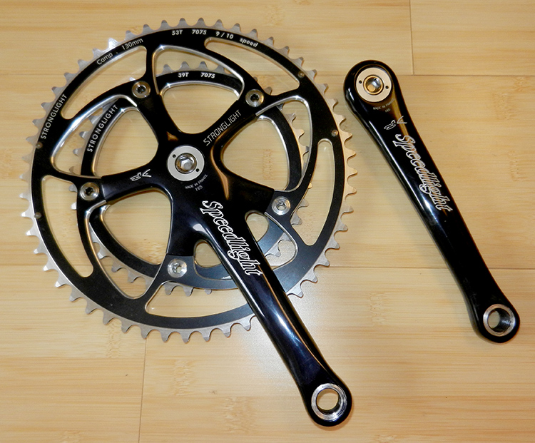 Speedlight 165 mm crankset