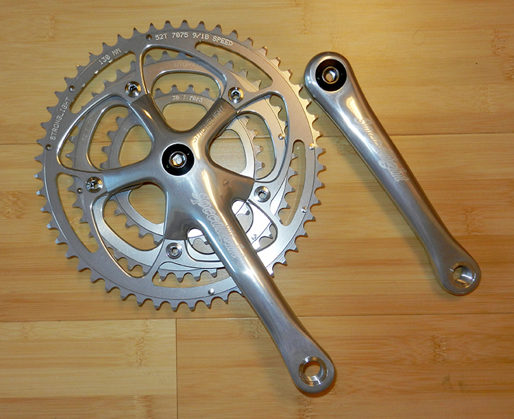 Stronglight speedlight 172.5 triple crankset