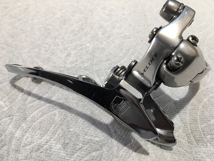 Veloce clamp-on front derailleur