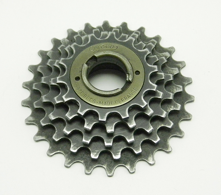 Cyclo French-threaded freewheel