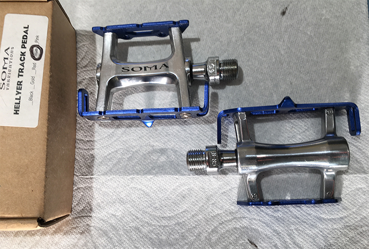 Soma Hellyer track pedals