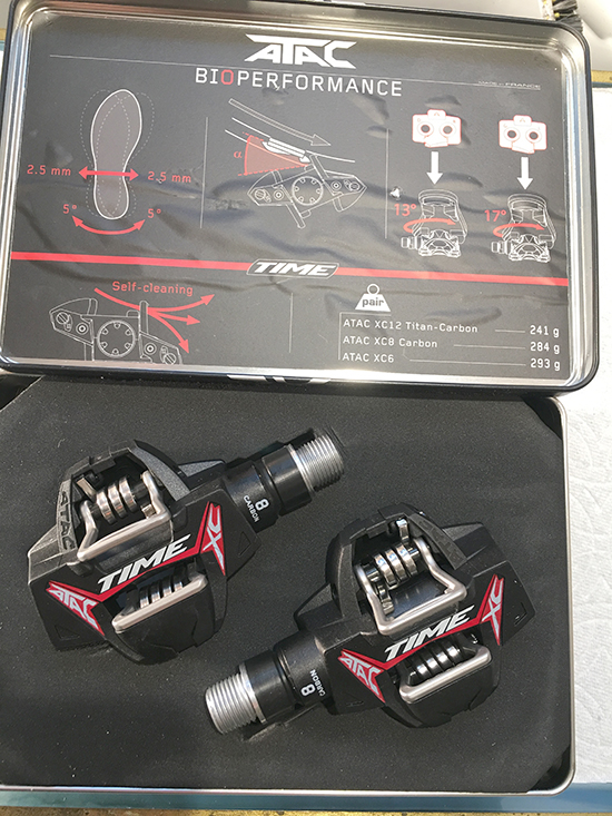 Time XC 8 carbon pedals
