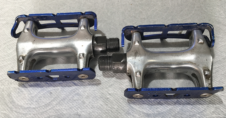 Wellgo track pedals