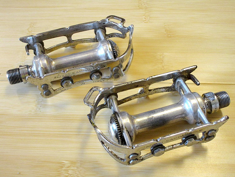 Campagnolo Record steel pedals