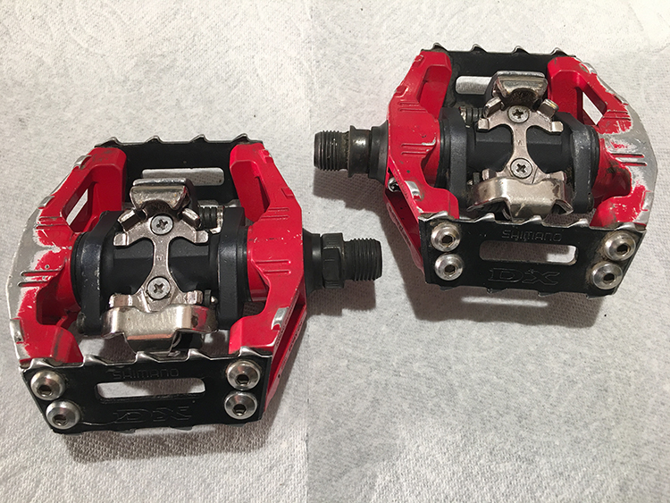 shimano dx spd pedals off 54