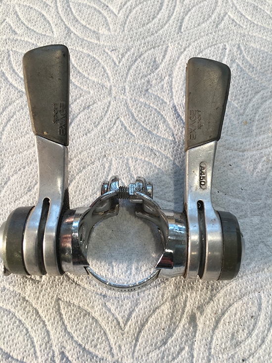 Exage sport shift levers