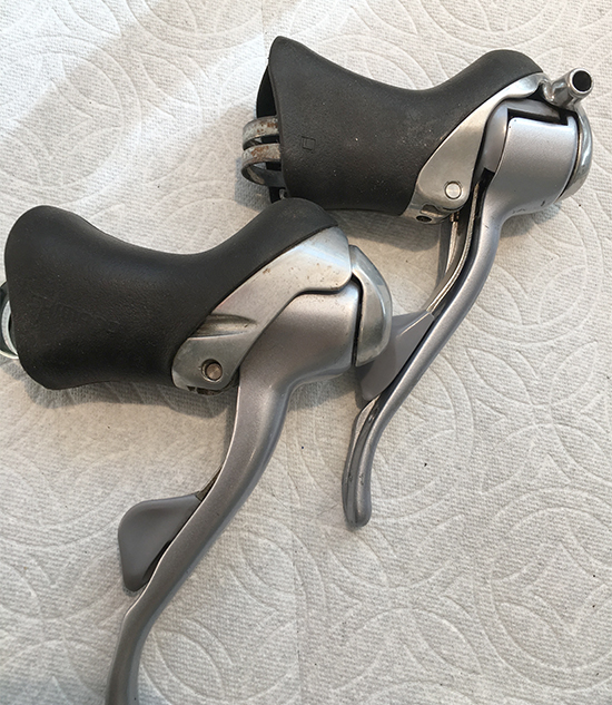Shimano shift levers - South Salem Cycleworks