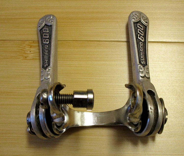 Shimano 600 EX downtube friction shifters