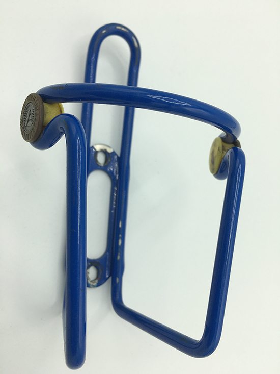 Elite blue Ciussi water bottle cage