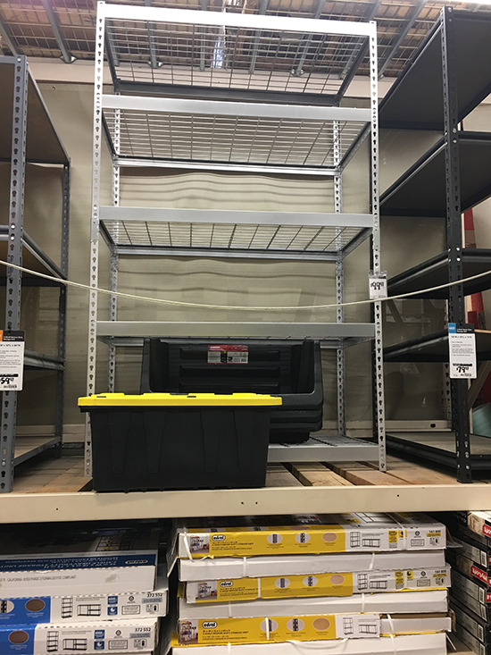 Buying Storage Shelves