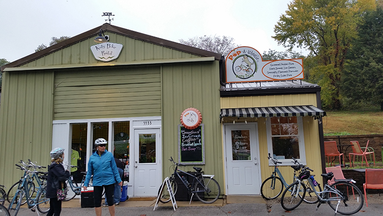 Katy Trail Bike Rental