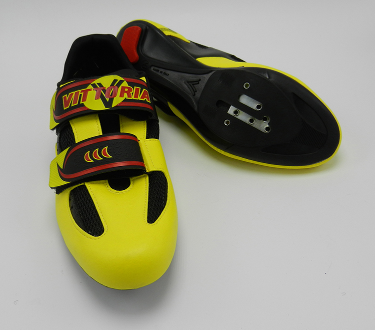 Vittoria Way size 41 yelow cycling shoes