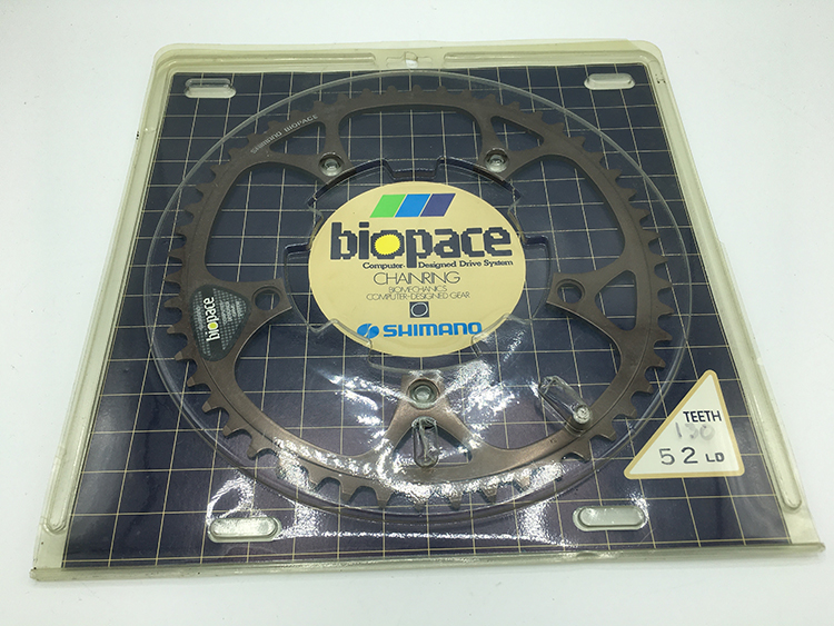 Biopace 52-tooth chainring