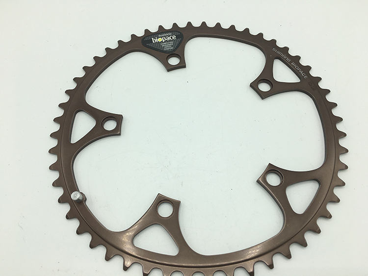 Shimano new 52-tooth biopace chainring
