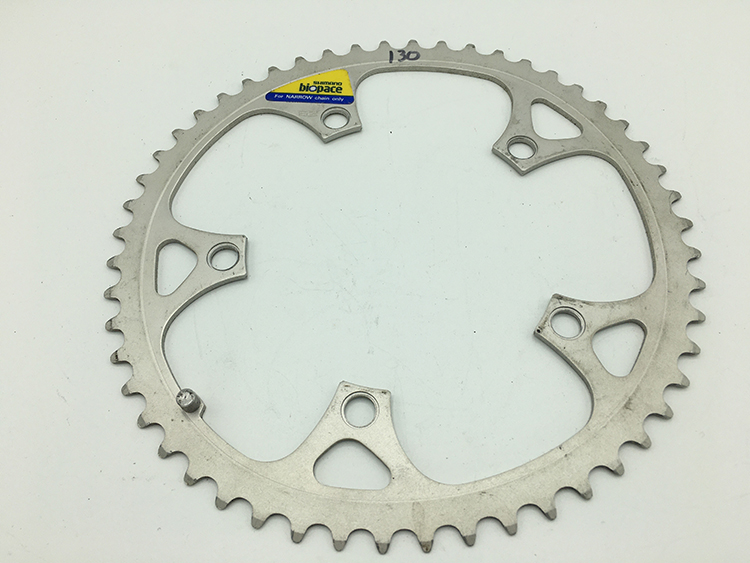 52-tooth Shimano Biopace chainring